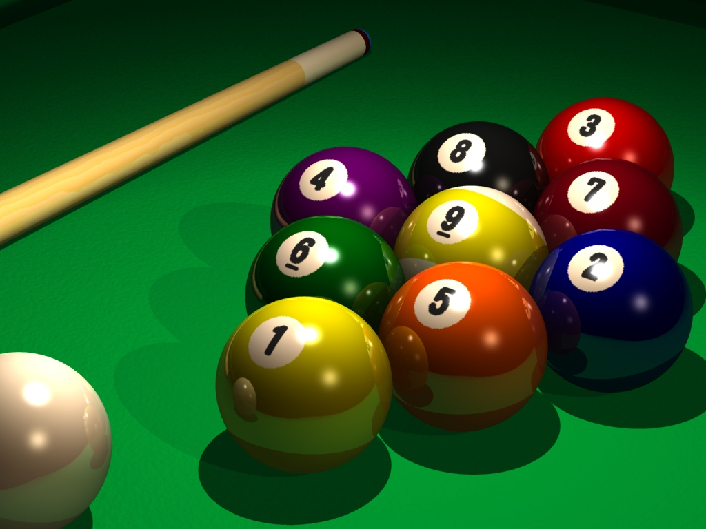 3D Nine Ball Billiard Wallpaper 2111 Wallpaper Themes